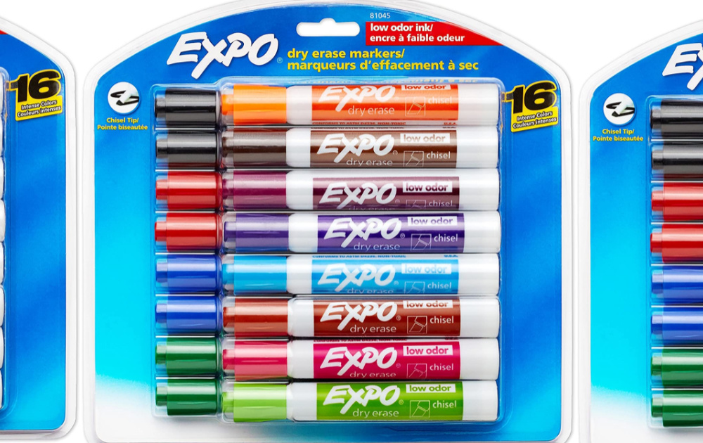 pack of expo markers