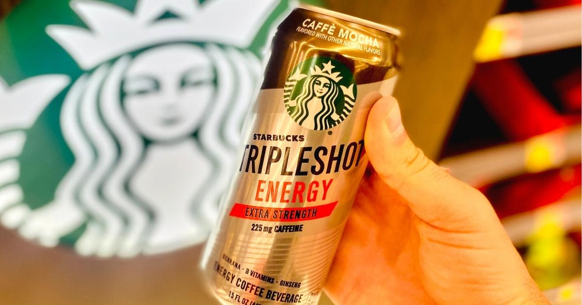 FREE Starbucks TripleShot After Cash Back at Walmart
