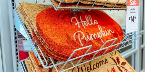 Fall Doormats Only $12.99 at Michaels (Regularly $20)   In-Store & Online