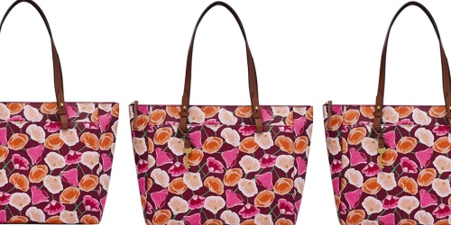 Fossil Floral Tote Bag Only $48 Shipped on Amazon (Regularly $91)