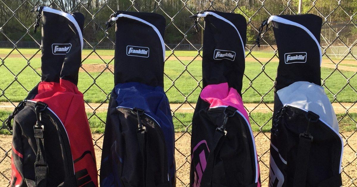 Franklin Sports Youth Baseball Bat Bags