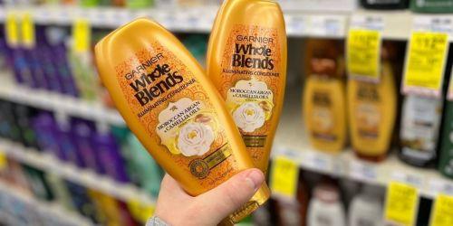 Garnier Whole Blends Shampoo & Conditioner Only $1 Each After CVS Rewards (Regularly $5)