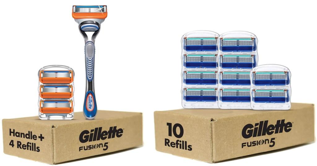 gillette men's razors