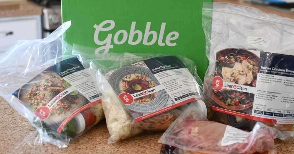 See Why I Emotion The Gobble Repast Transportation Work   Mark 6 Repasts For Conscionable $36 Shipped & Escaped Cookies