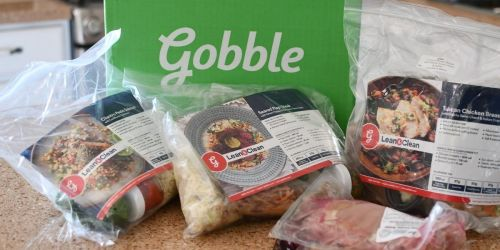 See Why I Love The Gobble Meal Delivery Service + Score 6 Meals for Just $36 Shipped & Free Cookies