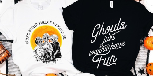Halloween Group Costume Tees from $14.99 + FREE Shipping | Golden Girls, Pac Man & More