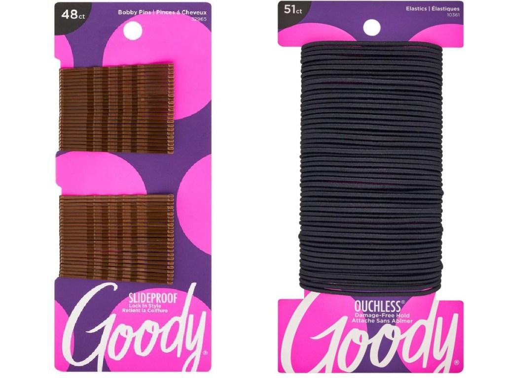 Goody bobby pins and hair ties