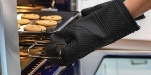 Gorilla Heat Resistant Silicone Oven Mitts Only $14.79 on Amazon (Regularly $30)