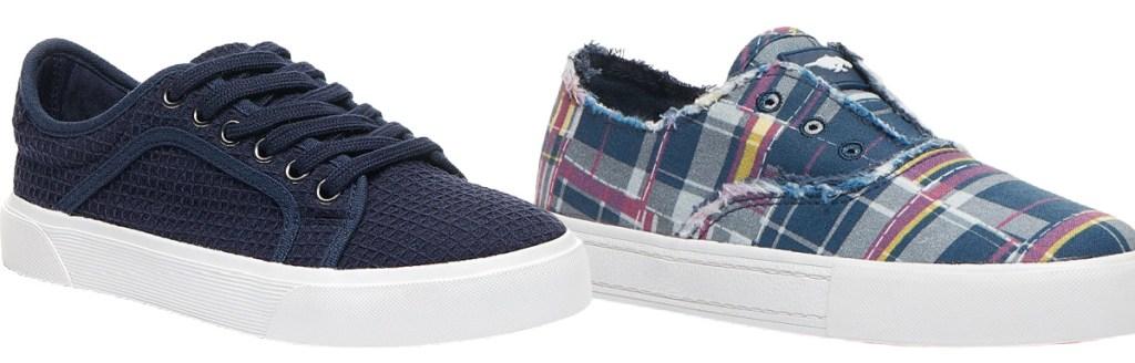 Gray Waffle Millie Lima Slip-On Sneaker