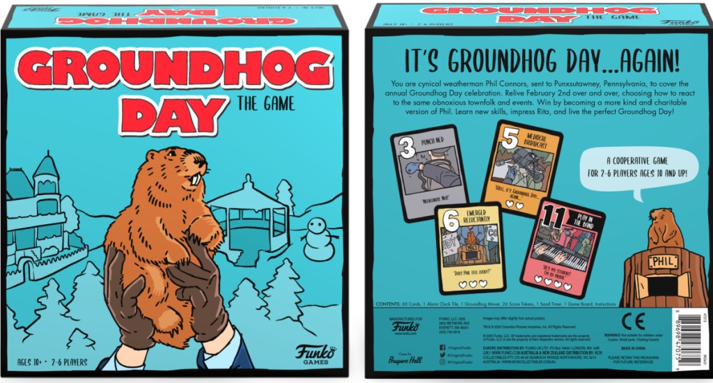 Groundhog Day board game