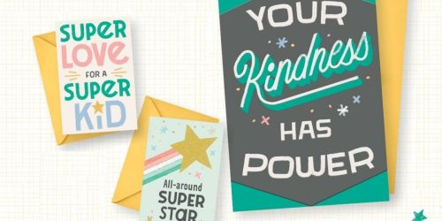 Free Hallmark Greeting Cards 3-Pack | Includes 2 Mini Cards & 1 Full-Size Card