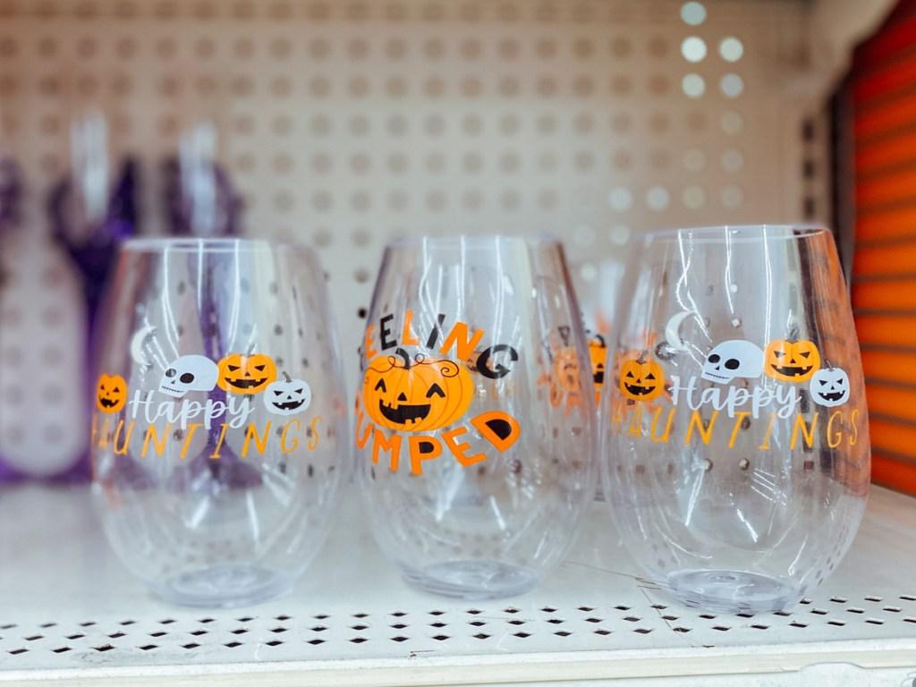 Halloween Wine Cups
