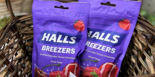 New $1.50/1 Halls Printable Coupon = Cough Drops Just 28¢ at Walmart or Target