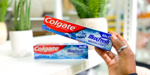 Colgate Max Toothpastes Only 49¢ at Target (Just Use Your Phone)