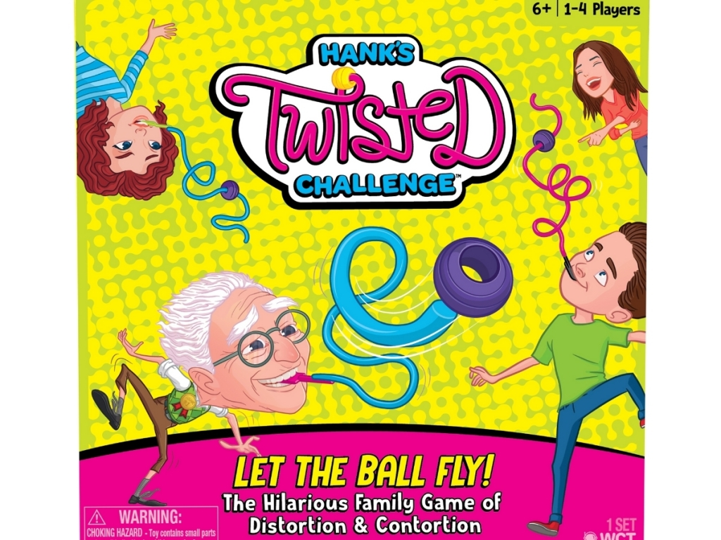 hank's twisted challenge party game from walmart