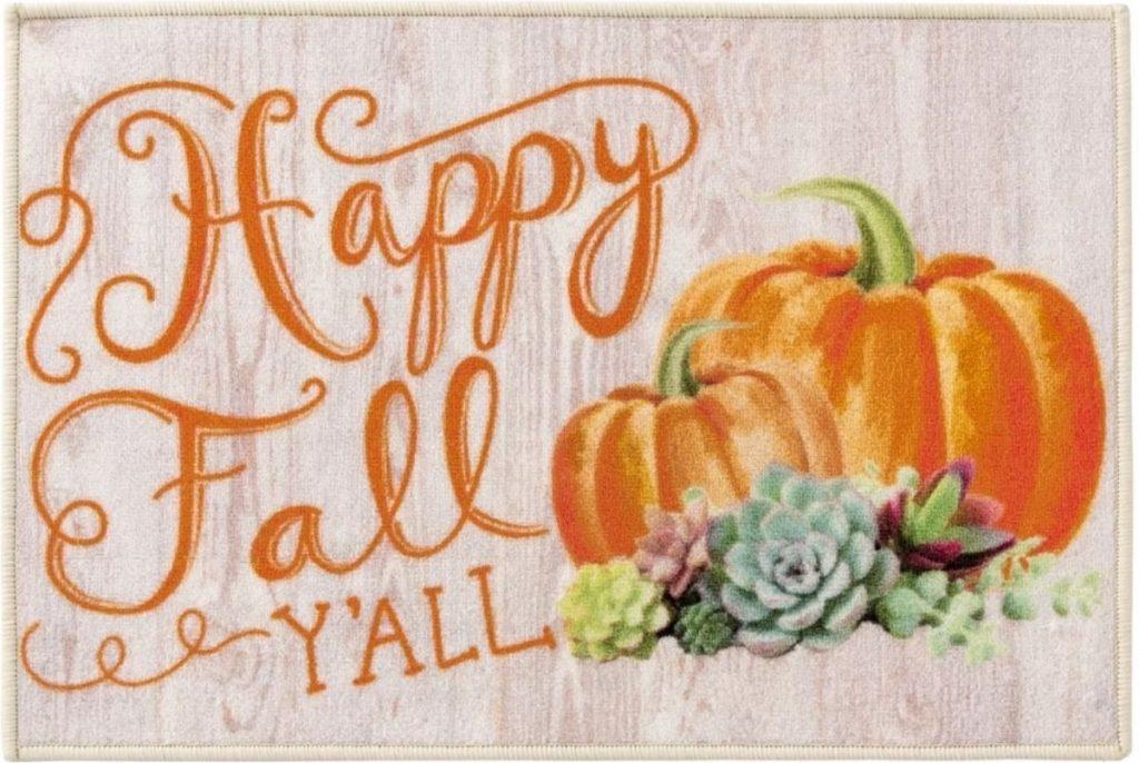 Happy Fall Y'all Rug