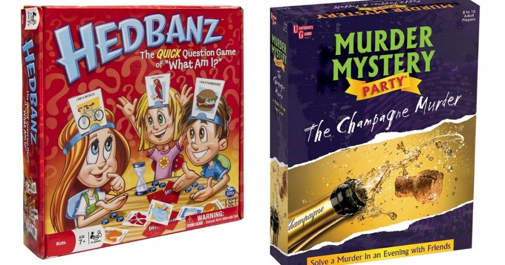 headbandz and murder mystery party champagne murder games from kohl's