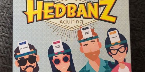Hedbanz Adulting Party Game Only $5.74 on Amazon (Regularly $20)