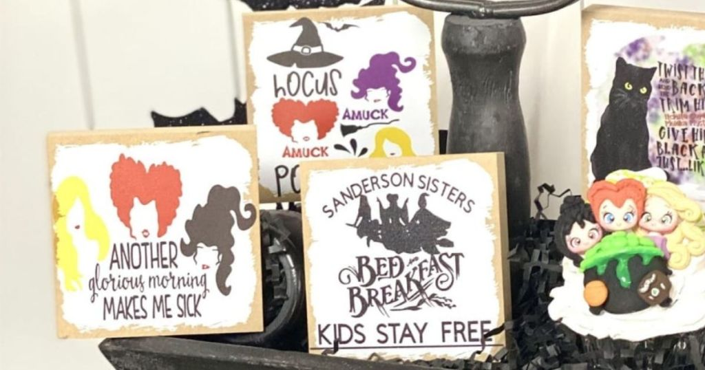 group of Hocus Pocus Signs