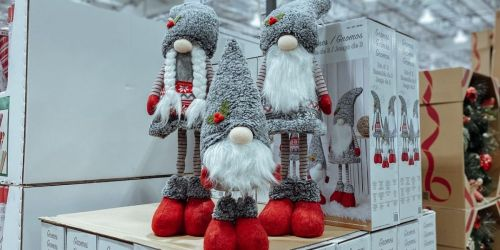 Holiday Gnomes 3-Piece Set Only $39.99 at Costco