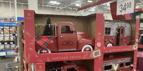 Pre-Lit Vintage Holiday Trucks & Campers Just $34.98 at Sam's Club