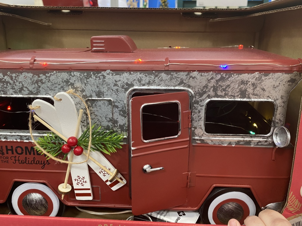 Holiday vintage bus
