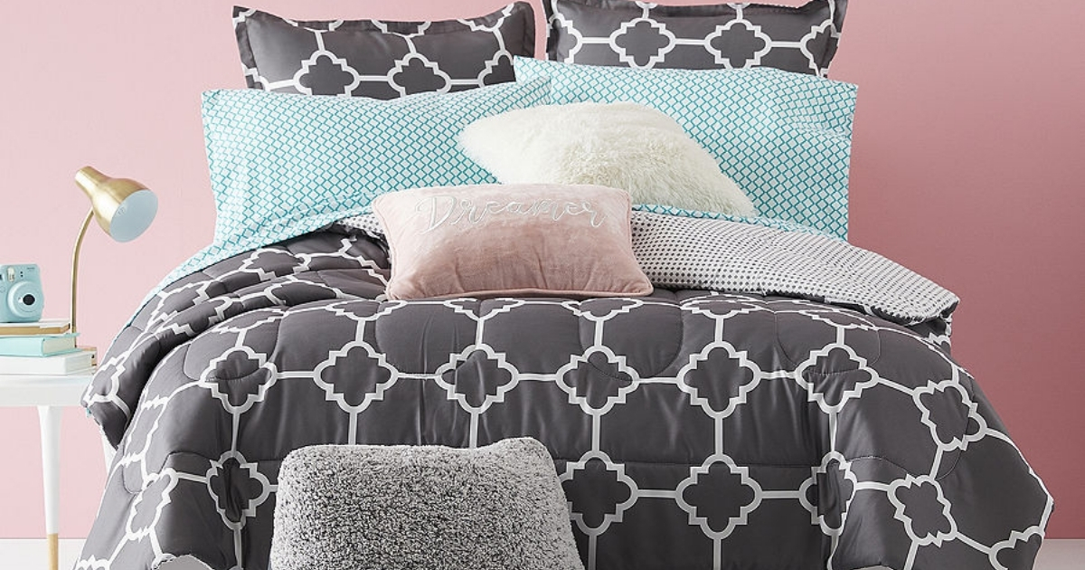 home expressions 8 piece bedding set
