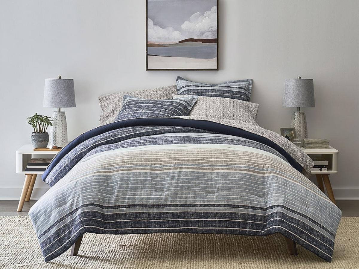 mercer stripes home expressions bedding set