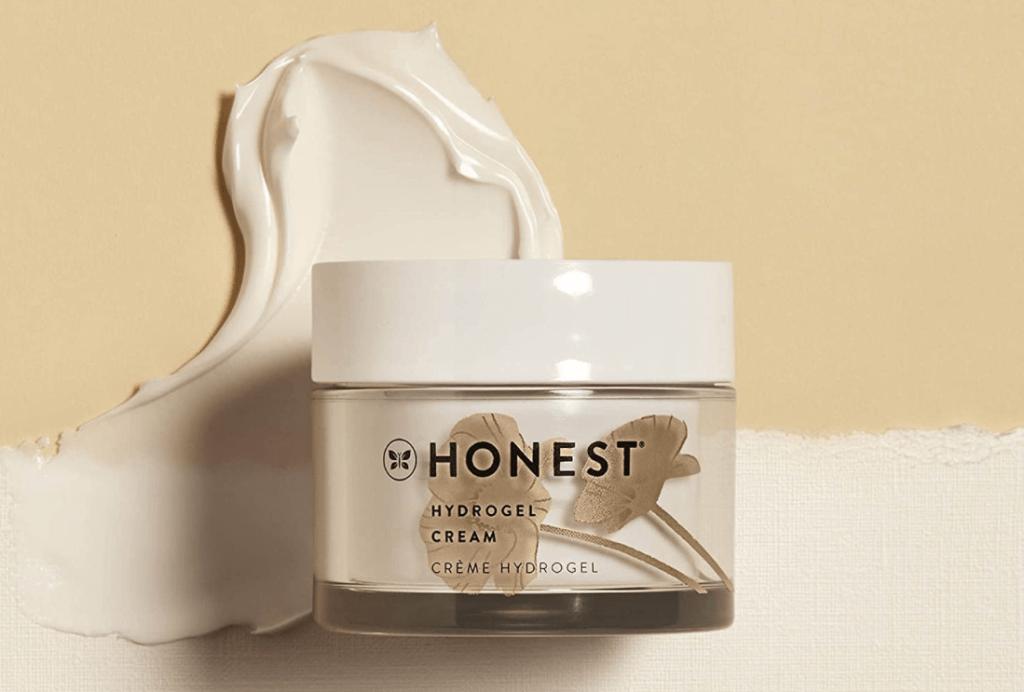 jar of Honest Beauty Hydrogel Cream