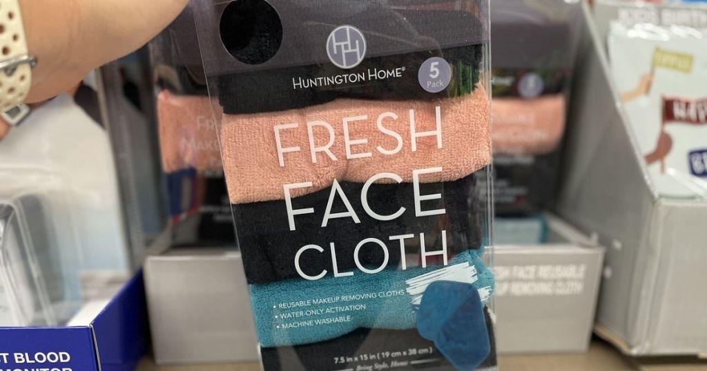 Huntington Home Fresh Face Cloths