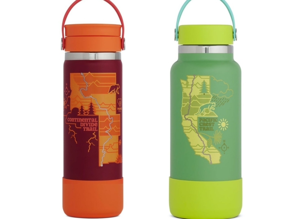 hydroflask limited edition scenic trails water bottles