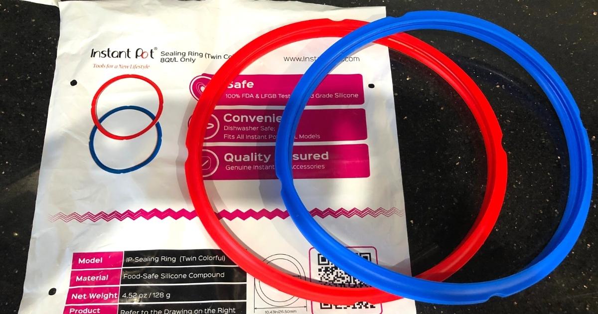 Instant Pot 8 Quart Sealing Ring 2-Pack