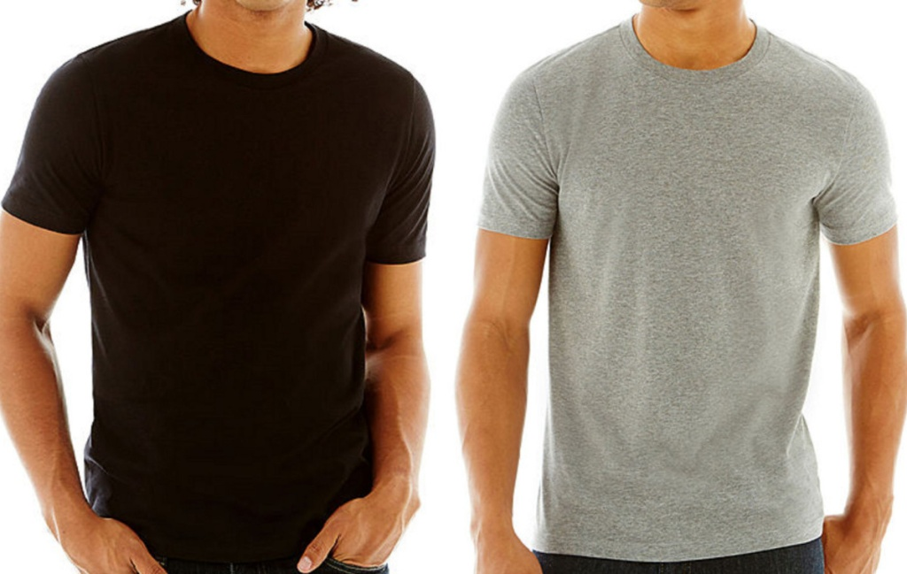 2 men's shirts