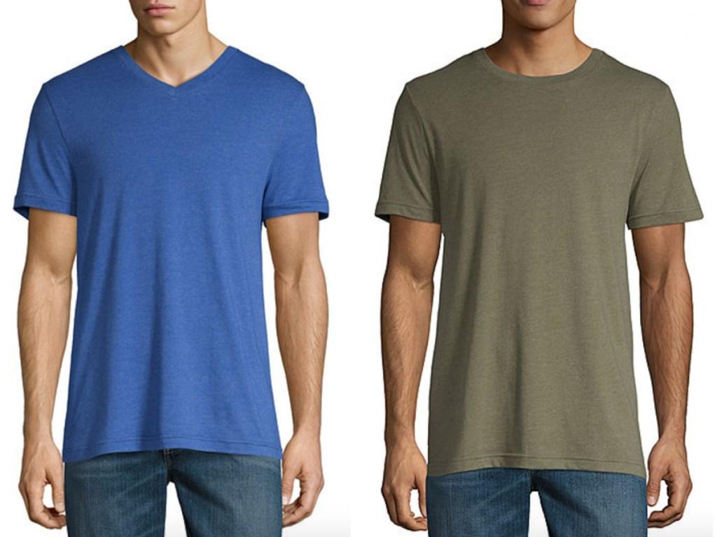 2 men's arizona t shirts