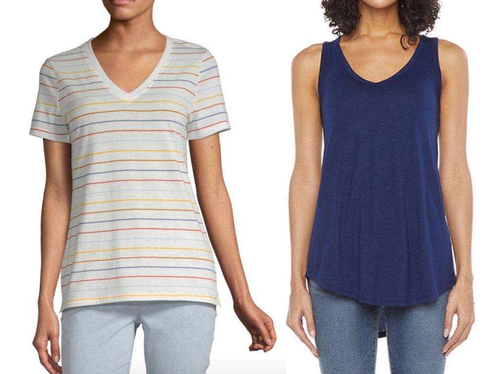 women's tees and tanks