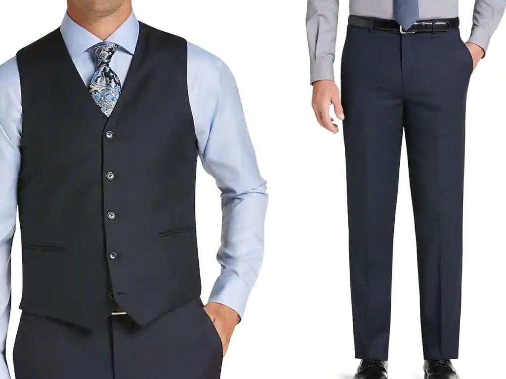 jos a bank men's suit separates