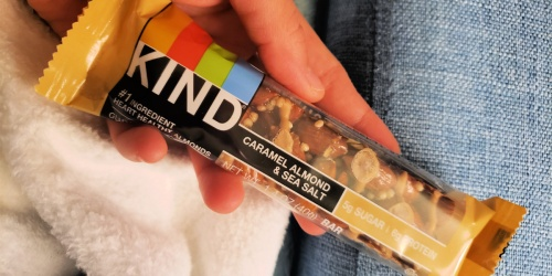 KIND 12-Count Snack Bars $10.43 Shipped on Amazon | Just 87¢ Per Bar!