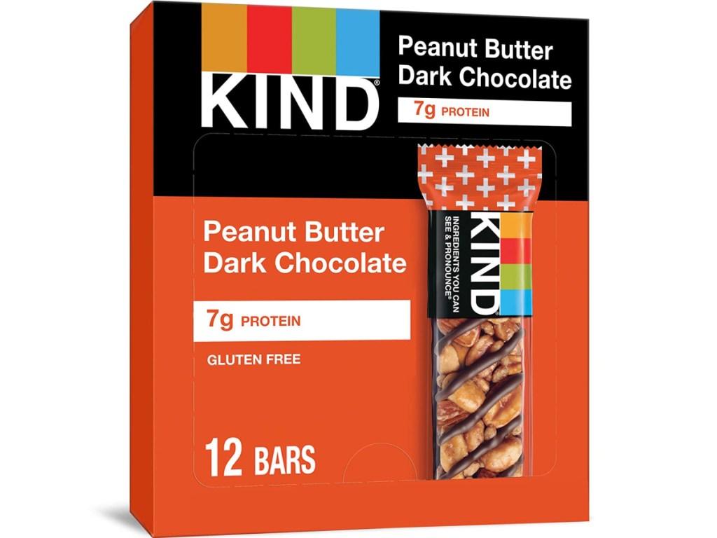 KIND Peanut Butter Dark Chocolate 12-Count Snack Bars