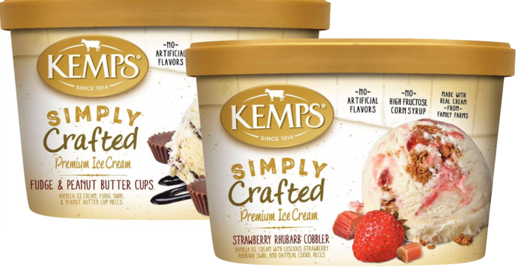 Kemps Simply Crafted Ice Cream