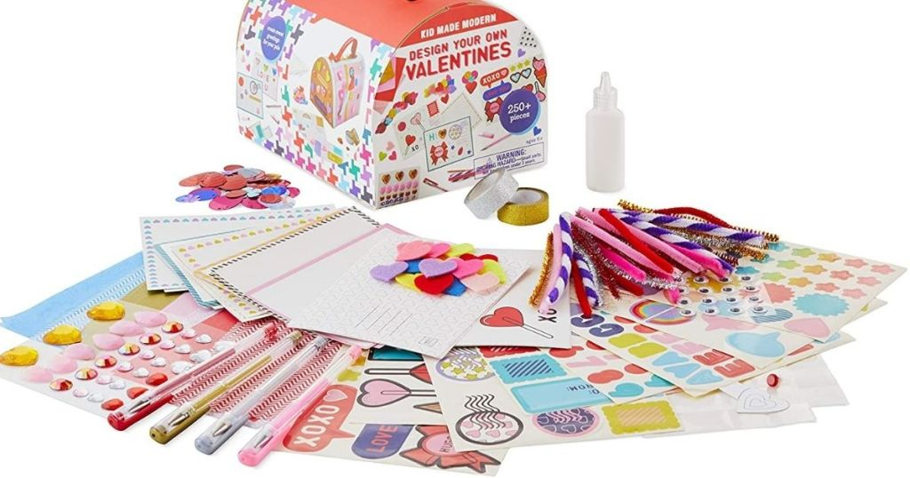 Kid Made Modern Design Your Own Valentines kit