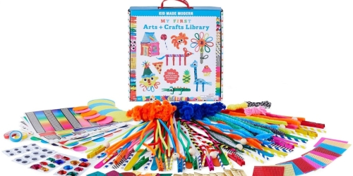 Kids 200-Piece Arts & Crafts Supply Library Just $7.23 on Walmart.com (Regularly $22)