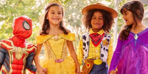 Save on Disney Halloween Costumes w/ Stackable Code