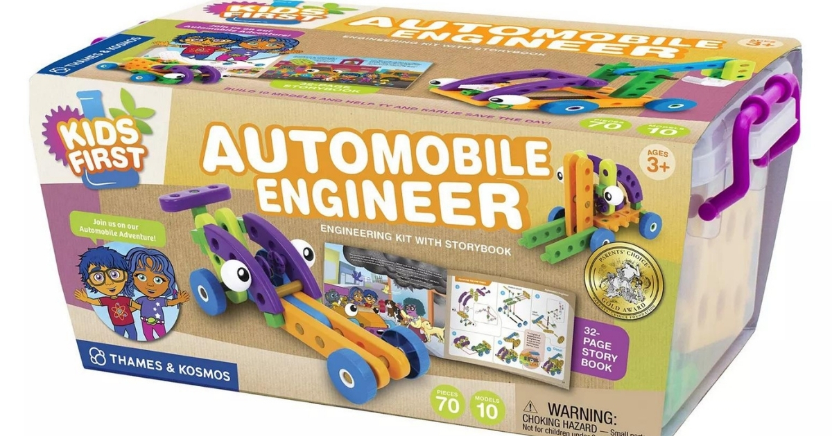 Kids First Automobile Engineering Kit