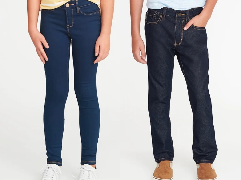 old navy jeans for boys and girls