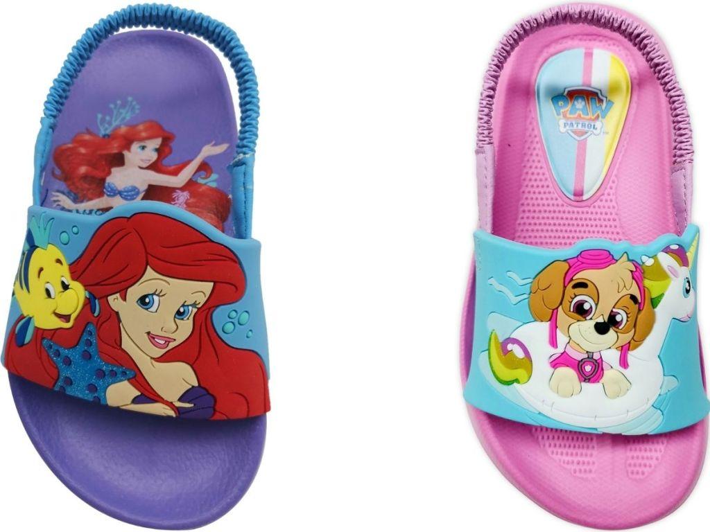 two Kids Pool Slides