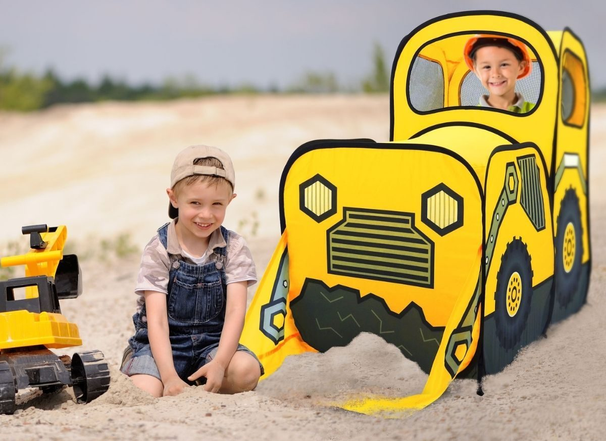 Kids Tractor Play Tent