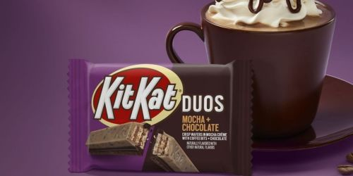 KitKat Duos Mocha Crème and Chocolate 24-Pack Only $17 on Amazon | Just 71¢ Per Bar