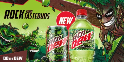 New MTN DEW Thrashed Apple Coming Soon to Kroger & Affiliates