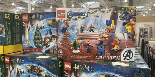 LEGO Advent Calendars Only $29.99 at Costco | Star Wars, Marvel, & Harry Potter