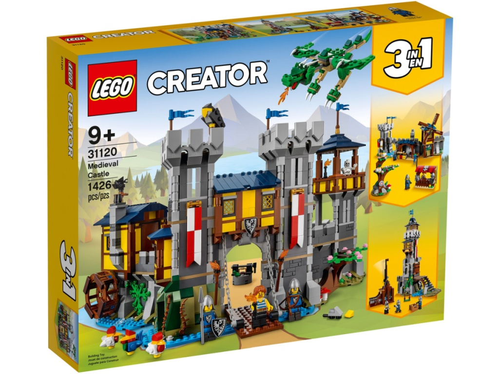 LEGO Creator Medieval Castle 1426-Piece Building Set